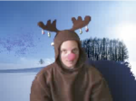 Rudolph Showed up!