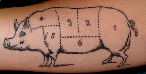 Meat Tattoo: The Whole Hog
