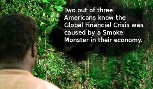 A Smoke Monster In The Economy